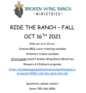 Broken wing ranch trail ride